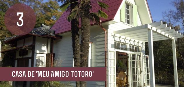 3 - Réplica Casa Totoro