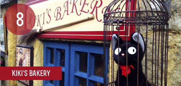 8 - Kiki's Bakery